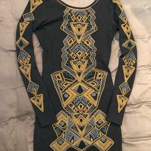 Beautifully stitched Free People Bodycon dress